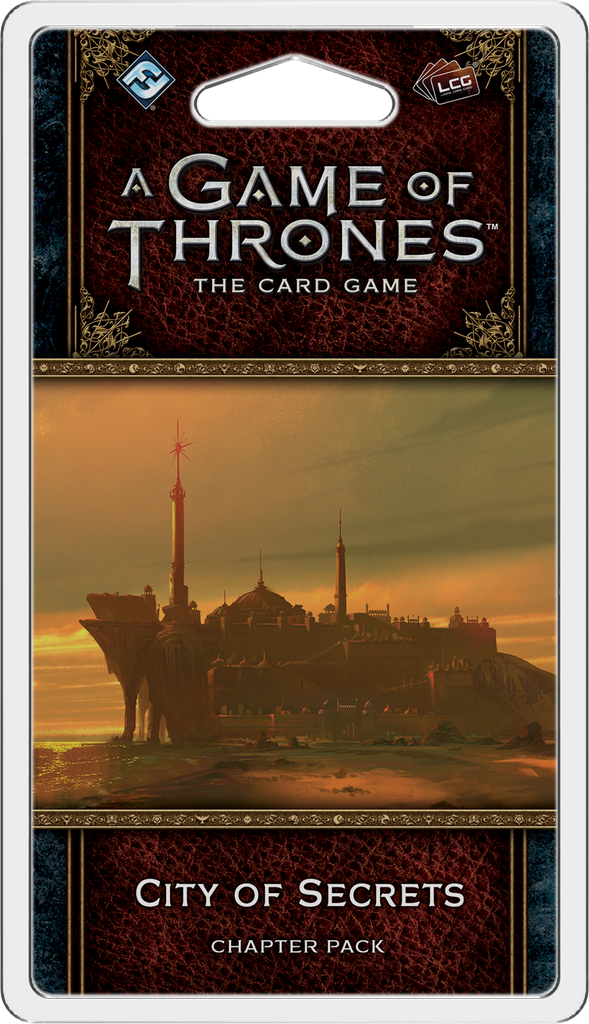 A Game of Thrones: The Card Game (2nd Ed)- City of Secrets