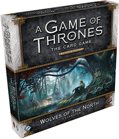 A Game of Thrones: The Card Game 2nd Ed – Wolves of the North