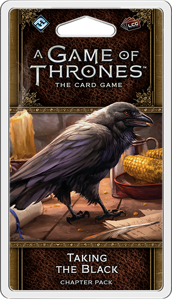 A Game of Thrones: The Card Game 2nd Ed – Taking the Black