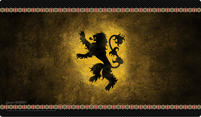 A Game of Thrones: The Card Game Playmats - House Lannister
