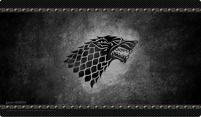 A Game of Thrones: The Card Game Playmats - House Stark