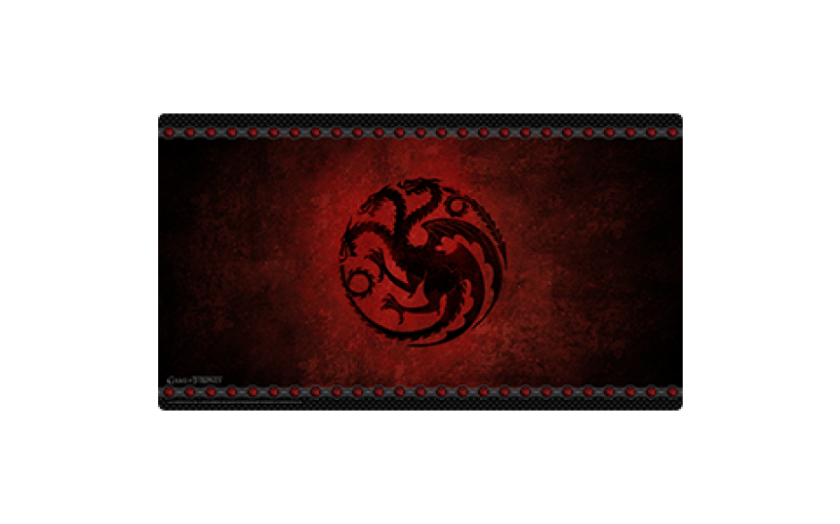 A Game of Thrones: The Card Game Playmats - House Targaryen