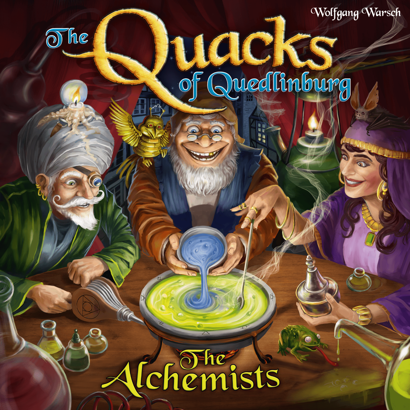The Quacks of Quedlinburg: The Alchemists (English Edition)