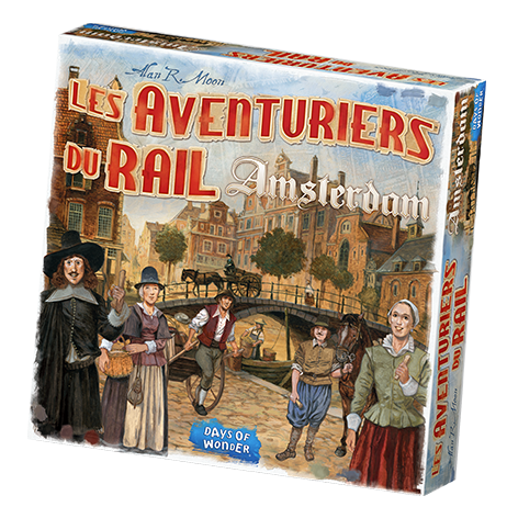 Ticket to Ride: Amsterdam (French Edition)