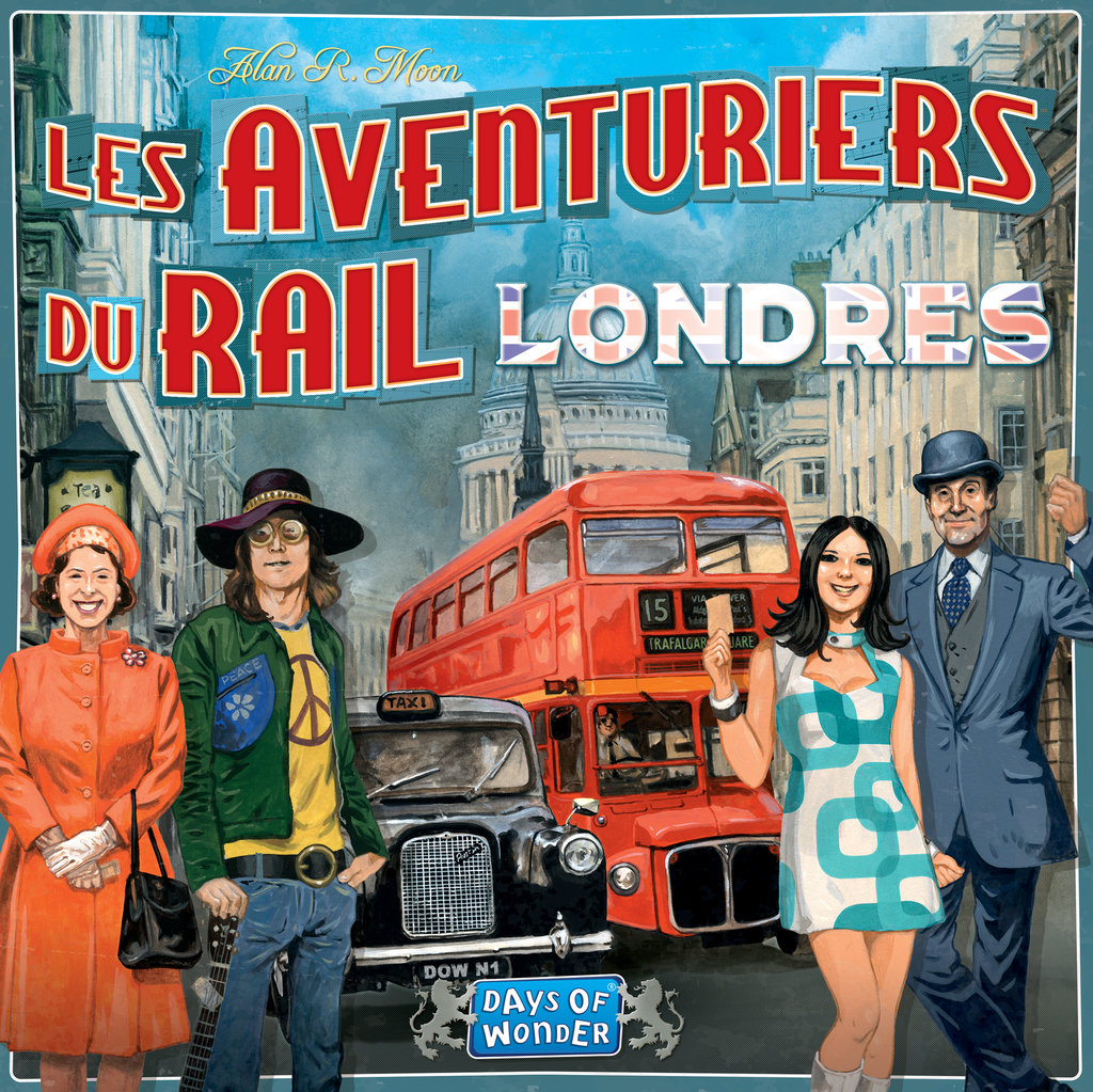 Ticket to Ride: London (French Edition)